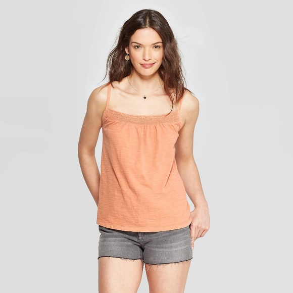 Universal Thread Tops - Universal Thread Smocked Tank